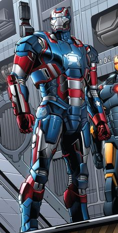 The Iron Patriot Marvel Comics Art, Marvel Comic Universe, Marvel Heroes, Marvel Avengers, Iron Man Avengers, Iron Man Kunst, Iron Man Fan Art, Marvel Characters, Marvel Cinematic