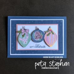 Blog – Stampin' Cat Best Bow, Craft Bags, Peta, I Card, Stampin Up, Christmas Cards, Projects, Blog, Crafts