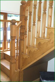 Berriew Provincial Softwood Staircase Banisters, Glass Panels, Case Study, Hardwood, Stairs, Staircases, Pine, Home Decor, Ladders