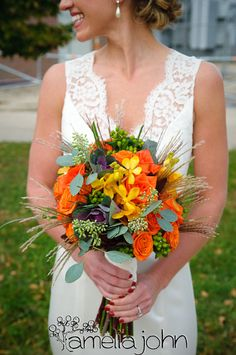 bouquet for a beach weeding