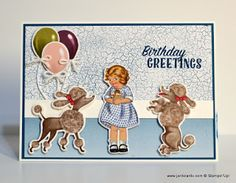 JanB Handmade Cards Atelier: Poodles & Cake Video