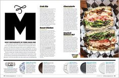 Baltimore Magazine. October 2015. 25 Dishes to Die For. Photography by Scott Suchman.