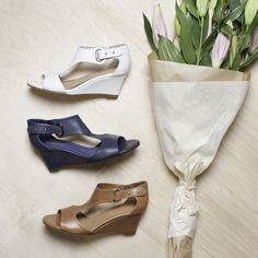 Unico by Top End. #topendshoes #cinorishoes #cinori #midheel #wedgeheel #races #bestseller #comfortableshoes #comfort #timeless #style #fashion #shoes #goeswitheverything #white #tan #navy Shoe Brands, Comfortable Shoes, Ankle Booties, Wedge Heels, Best Sellers, Block Heels, Style Fashion, Fashion Shoes, Latest Trends