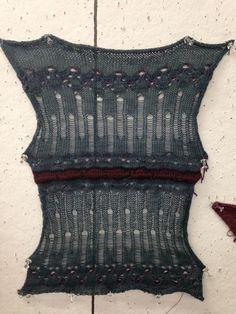 Machine Knitting (singlebed) on RISD Portfolios