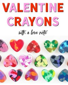 Essential Oil Heart Crayon DIY