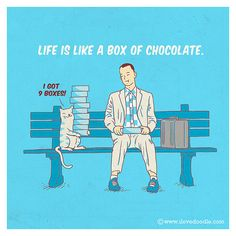 Life is like a box of chocolate | Flickr - Photo Sharing!