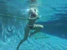 Youtube video of Amanda Beard doing Swimming exercises.  By Self Magazine.