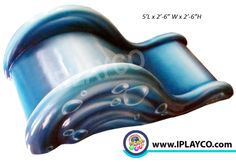 TUFF STUFF Soft sculpted foam toddler Water Slide. Easy to clean, no moving parts and very colourful.  Great for churches, airport terminals, museums, toddler play areas. www.iplayco.com Play Areas, Play Spaces, Toddler Play Area, Discovery Zone, Play Structures, Children Play, Healthcare Design, Indoor Playground, Dentists