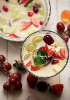 Just Try & Taste: Resep Es Buah Moro Seneng