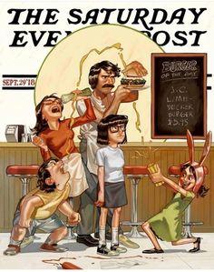 New funny comics anime fan art ideas Bobs Burgers Memes, Linda Bobs Burgers, Tina Belcher, Bob S, Fanart, American Dad, Adult Cartoons, My Spirit Animal, Funny Signs