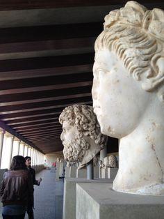Museum of Ancient Agora November, Lion Sculpture, Museum, Statue, Friends, Art, November Born, Amigos, Art Background