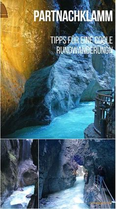 Germany trip: Cool destination for your vacation in Bavaria: the Partnachklamm in Garmisch Partenkirchen. All tips for sightseeing and circular hikes. Partnachklamm - a cool destination in Garmisch-Partenkirchen Fernomenal fernomenal Ausflugsziele Europe Destinations, Europe Travel Tips, Travel Hacks, Cool Places To Visit, Places To Go, Vacation Ideas, Vacation Travel, Vacation List, Voyage New York