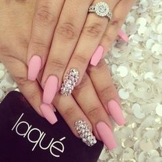 Pink and glitters ❁