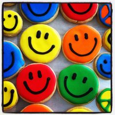 Don't Worry, Be Happy! Cookies!