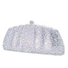 Glamour Swarovski Crystal Clutch Bag