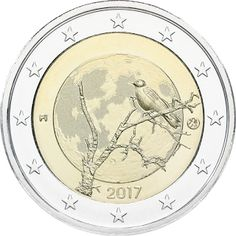 coins and more: Commemorating Finnish Nature:i) A Two Euro Gl. Metal Prices, Silver Prices, World Country Flags, History Of Finland, Euro Coins, Valuable Coins, Commemorative Coins, Proof Coins, Stamps