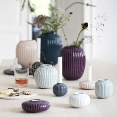 Hammershøi vase medium - Home Decor Craft Danish Interior, Gray Interior, Scandinavian Interior, Ikebana, Boho Home, Décor Boho, Style Vintage, Decor Crafts, Home Decor