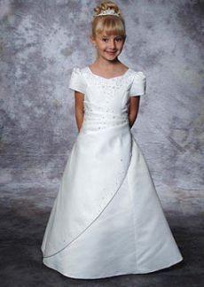 ABRIR MÁS Girls Dresses, Flower Girl Dresses, Rubrics, Frocks, Designer Dresses, White Dress, Short Sleeve Dresses, Daughter, Wedding Dresses