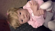 Sweet Reborn Baby Girl Ready For Her New Home by FlossandDolls