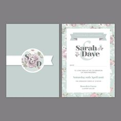 Wedding Stationery The Sarah Collection