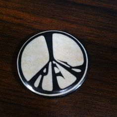 Vintage Robert F. Kennedy RFK Peace Sign Symbol Pinback Pin Political Button Democrat Presidential Election by vintagebaron on Etsy