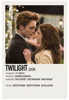 Iconic Movie Posters, Minimal Movie Posters, Minimal Poster, Iconic Movies, Film Posters, Film Twilight, Twilight 2008, Twilight Poster, Film Polaroid
