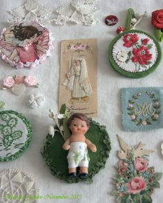 Boutique Nain.de.Jardin Les petites broches poupées.