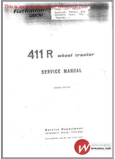 pin by tractor manuals dowunder on fiat tractor manuals to download rh pinterest com Instruction Manual Example Instruction Manual Example