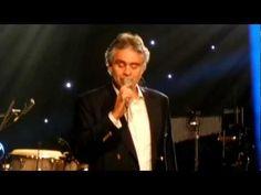 I FOUND MY LOVE IN PORTOFINO - Andrea Bocelli NYC 2013 - YouTube