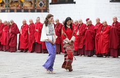 Kate Middleton and Prince William Crack Each Other Up After Arriving in Bhutan