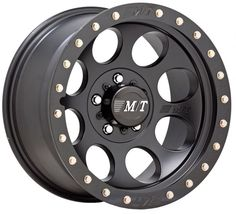 "Mickey Thompson Classic Lock Wheel in Black with 5x5"" Bolt Pattern in 17x9 Size & 4 1/2"" Backspacing"