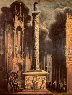 The Grand Column by François de Nomé, called Monsù Desiderio (French, c.1593–after 1630)