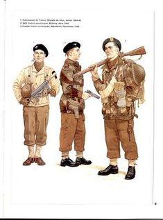UNIFORMES DEL EJERCITO FRANCÉS 1939-1945
