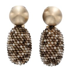 1stdibs - HEMMERLE A Pair of Rock Crystal and Smoky Quartz Ear Pendants explore items from 1,700  global dealers at 1stdibs.com