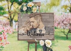 Rustic Wedding Welcome Sign Wood Wedding Signs Wood Wedding Decorations Rustic Wedding Decor Bridal Shower Sign Bridal Shower Welcome Sign - Casamento - Wedding Dekorations Bridal Shower Welcome Sign, Bridal Shower Signs, Wedding Welcome Signs, Wood Wedding Decorations, Rustic Wedding Signs, Rustic Wedding Guest Book, Rustic Signs, Ceremony Decorations, Wedding In The Woods