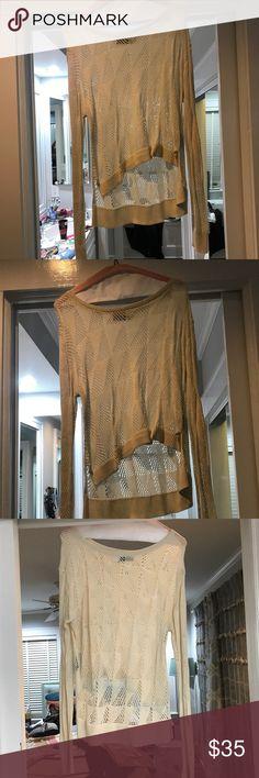 Cream BDG sweater Cream sweater BDG Sweaters