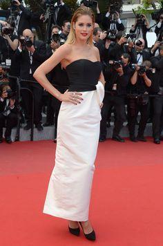 Doutzen Kroes in Dior beim Filmfest in Cannes