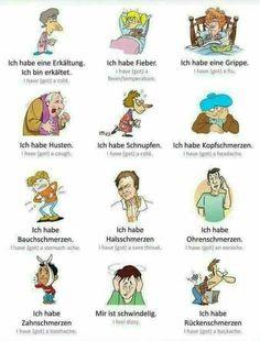 148 best Körper, Arzt, Krank sein images on Pinterest   Learn german ...