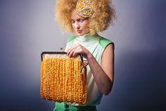 Fashion & accessories: Dorrith de Roode Bags: Marlous de Roode Photography: Michael Danker Hair / Make-up: Charlotte Mailhe Model: Iris Coopmans