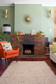 Design Fixation: Modern Fireplaces