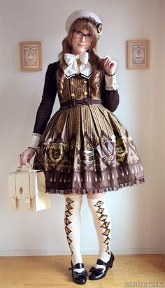Quartet Chocolate Everything except the shoes by Angelic Pretty