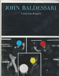 John Baldessari by Coosje Van Bruggen First Edition 1990 Artistic Photography, Art Photography, John Baldessari, Van, Books, Graphics, Fine Art Photography, Fine Art Photography, Libros