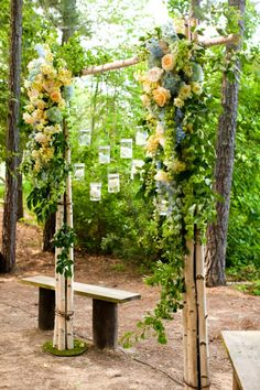 stunning rustic altar...crazy, We made this arch for a sweet couple. Looks like our arch is re-pinned a lot!! Sweet!!