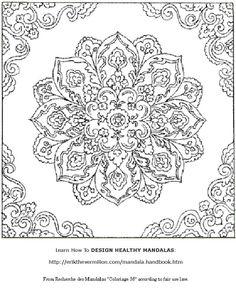 Free Printable Mandala Coloring Designs