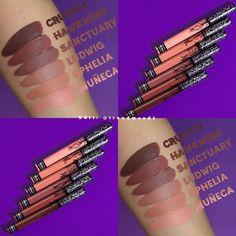 Kat von D Everlasting liquid lipstick swatches #Lipstickswatches