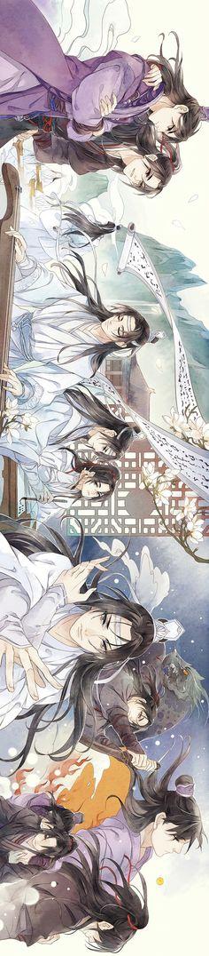 One thousand two hundred pictures - Micro album Manga Anime, Manga Art, Familia Anime, Hot Anime Guys, Handsome Anime, Boy Art, Animes Wallpapers, Chinese Art, Asian Art