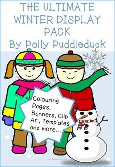 Included in this HUGE 75 page download-Can be used for PREK-KG/EYFS /KS1 / KS2This huge pack will compliment your students winter work beautifully! 90 Winter Words/Labels (can be used for display purposes or writing prompts)Material for -A Winter Wonderland DisplayPenguin DisplayChristmas/Winter Tree with Gifts DisplaySanta Claus Colouring PagesWinter Writing Template2 Winter Banners