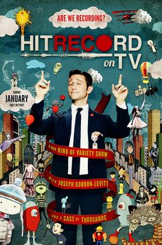 Joseph Gordon-Levitt's New Collaborative Variety Show 'HitRecord on TV' Premieres Online