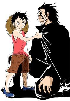 Dragon et Luffy