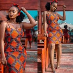 ankara mode Always flaunt those curves Ankara style inspiration from African Wear Dresses, Ankara Dress Styles, African Fashion Ankara, Latest African Fashion Dresses, African Print Fashion, African Attire, African Prints, Ankara Mode, Ankara Stil